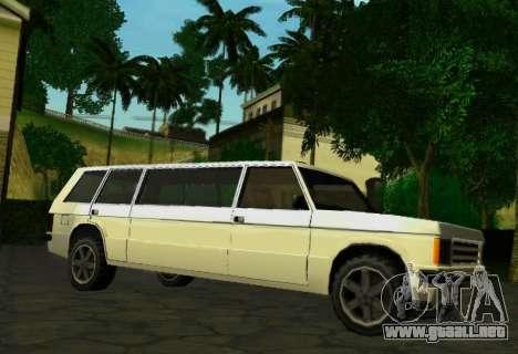 Huntley Limousine para la visión correcta GTA San Andreas