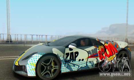 GTA Spano 2014 IVF para vista inferior GTA San Andreas