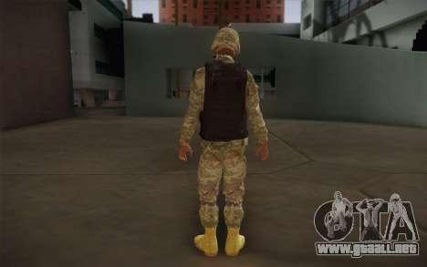 Sedena para GTA San Andreas segunda pantalla