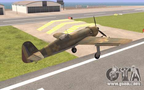 IAR 80 - Romania No 91 para GTA San Andreas left