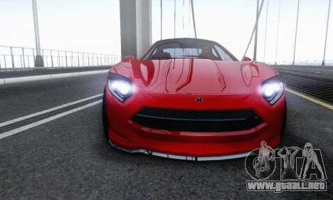 Hijak Khamelion V1.0 para la visión correcta GTA San Andreas