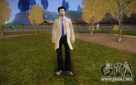 Castiel from Supernatural para GTA San Andreas