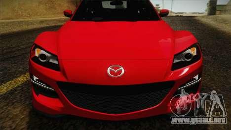 Mazda RX-8 Spirit R 2012 para la visión correcta GTA San Andreas