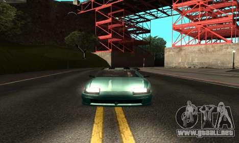 ENB mod muy débil PC para GTA San Andreas tercera pantalla