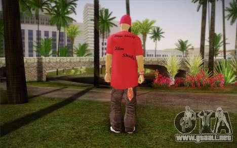 Eminem para GTA San Andreas segunda pantalla