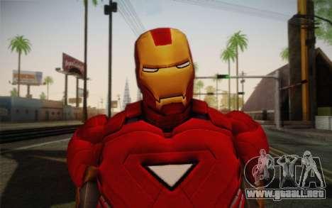 Hombre de hierro para GTA San Andreas tercera pantalla