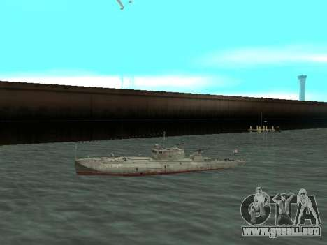 Bote Torpedo tipo G-5 para GTA San Andreas