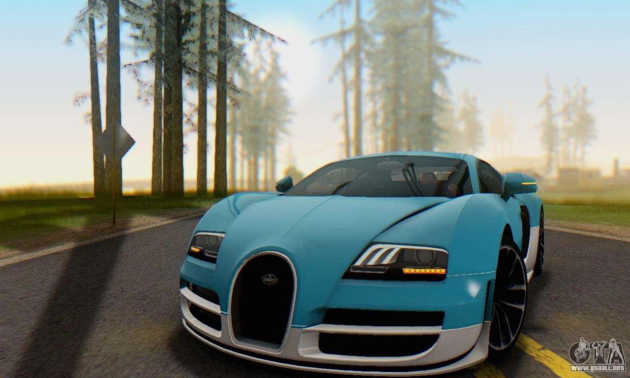 bugatti veyron super sport 2011 para gta san andreas. Black Bedroom Furniture Sets. Home Design Ideas