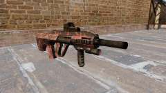 Máquina Steyr AUG-A3 tigre Rojo para GTA 4