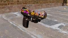 Pistola FN Five seveN LAM Graffiti para GTA 4