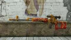El Dragunov Sniper Rifle (Punto Blanco)