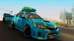 Subaru Impreza Blue Star