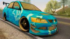 Mitsubishi Lancer Evolution IIIX Blue Star para GTA San Andreas