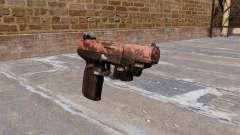 Pistola FN Five seveN LAM tigre Rojo para GTA 4