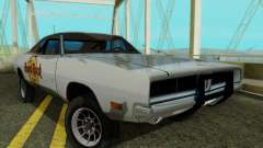 Dodge Charger 1969 Hard Rock Cafe para GTA San Andreas