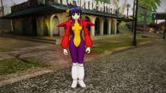 Andou Mahoro in battle suit para GTA San Andreas