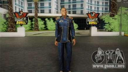 El capitán David Anderson из Efecto de Masa de la serie para GTA San Andreas