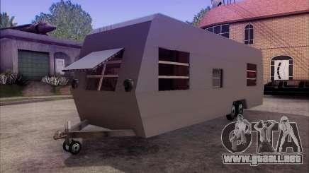La Caravana De Remolque para GTA San Andreas