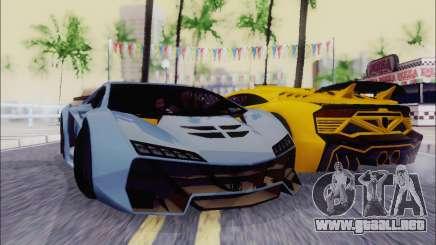 Zentorno GTA 5 V.1 para GTA San Andreas