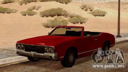 Sabre Convertible para GTA San Andreas