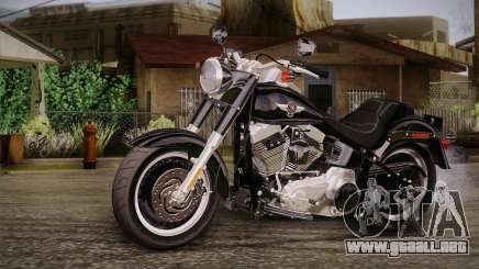 Harley-Davidson Fat Boy Lo 2010 para GTA San Andreas