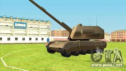 Rhino tp.RVNG-AM cal.155 para GTA San Andreas
