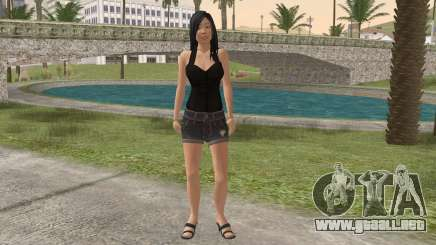 Casual Girl para GTA San Andreas