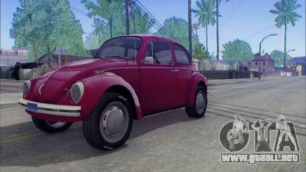1973 Volkswagen Beetle para GTA San Andreas