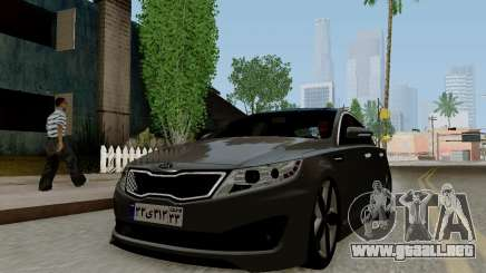 Kia Optima Stock para GTA San Andreas