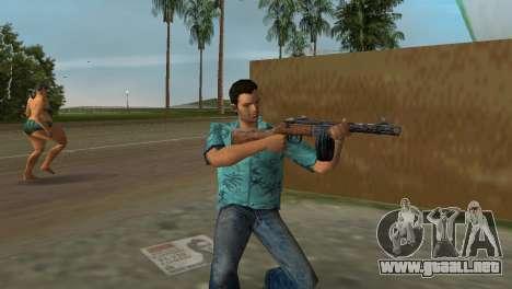Submachine Gun Shpagina para GTA Vice City sucesivamente de pantalla
