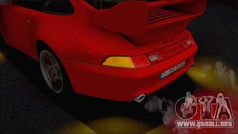 Porsche 911 GT2 (993) 1995 V1.0 EU Plate para GTA San Andreas interior