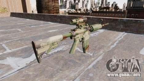 Automático de la carabina, PERO la OTAN Camo para GTA 4 segundos de pantalla