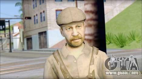Male Civilian Worker para GTA San Andreas tercera pantalla