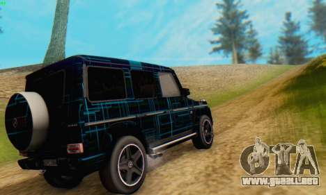 Mercedes-Benz G65 Black Square Pattern para GTA San Andreas