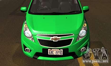 Chevrolet Spark 2011 para visión interna GTA San Andreas