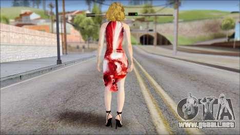 Masha Dress para GTA San Andreas segunda pantalla