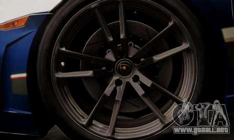 Lamborghini Gallardo LP 570-4 2011 Police v2 para GTA San Andreas interior
