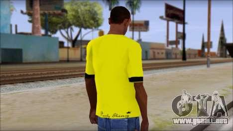Star Wars Clone T-Shirt para GTA San Andreas segunda pantalla