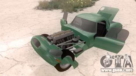 Jaguar E-Type para la visión correcta GTA San Andreas