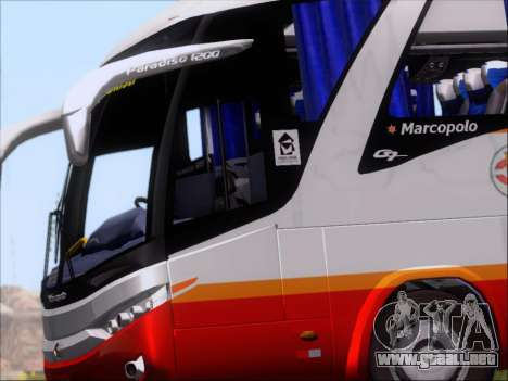 Marcopolo Paradiso 1200 Harapan Jaya para visión interna GTA San Andreas