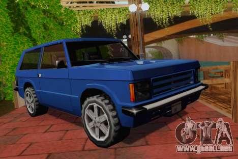 Huntley Coupe para GTA San Andreas