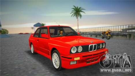 BMW M3 (E30) 1987 para GTA Vice City