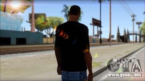 Trivium T-Shirt Mod para GTA San Andreas segunda pantalla