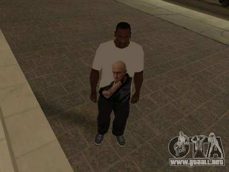T-Shirt Maestro para GTA San Andreas tercera pantalla