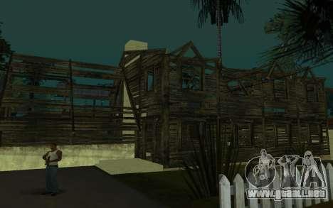 La casa de Call of Duty 4 para GTA San Andreas