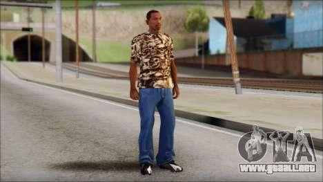 Skulls Shirt para GTA San Andreas tercera pantalla