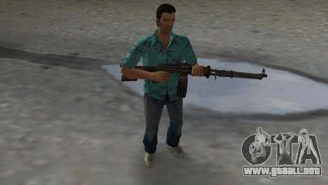 Degtyaryov del Manual de la Ametralladora para GTA Vice City segunda pantalla