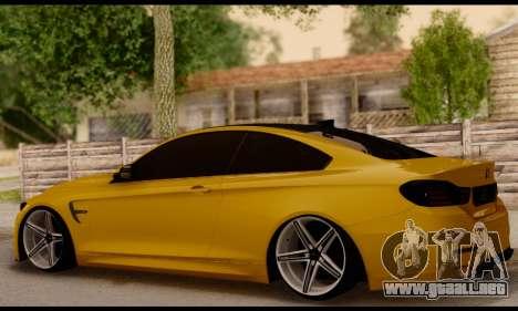 BMW M4 para GTA San Andreas left