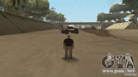 Coche de control remoto para GTA San Andreas segunda pantalla