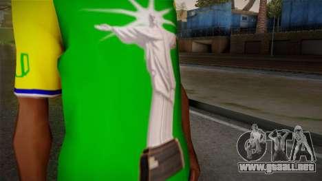 RIO T-Shirt para GTA San Andreas tercera pantalla
